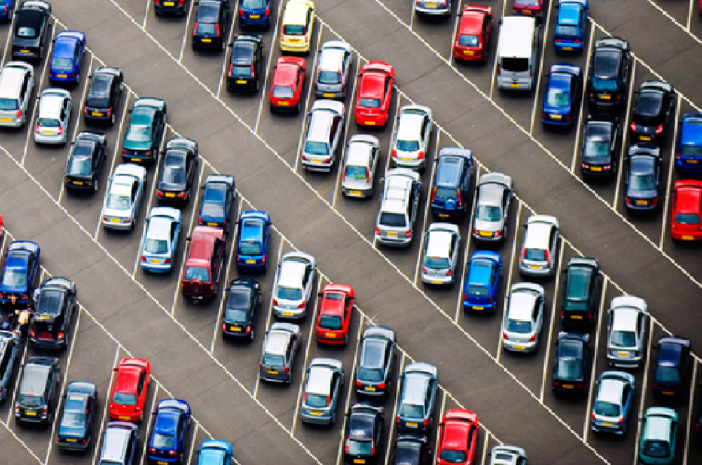 Обучение управлению автомобилем: парковка