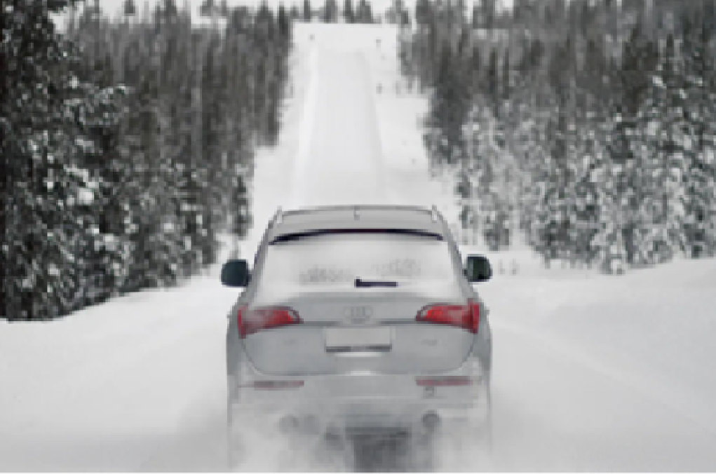 Безопасное вождение современного автомобиля в зимнее время